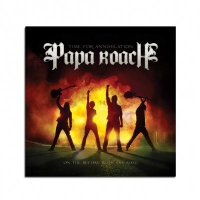 papa-roach - Time For Annihilation... CD