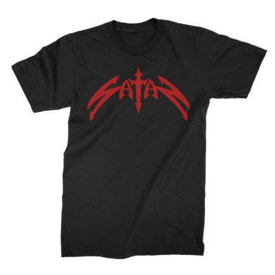 satan - Classic Logo Tee (Black)