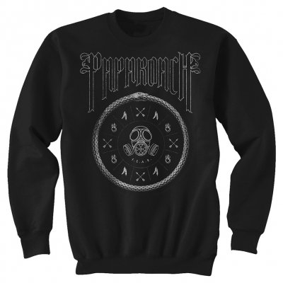 papa-roach - Circle Logo Sweatshirt (Black)