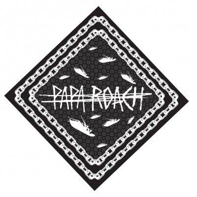 papa-roach - Chain Logo Bandana
