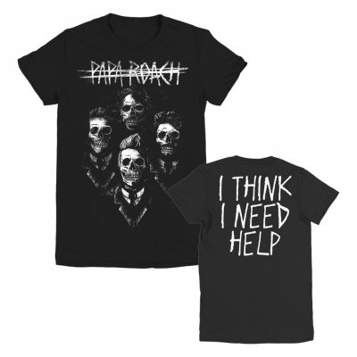 papa-roach - I Need Help Portrait Women's Tee (Black)