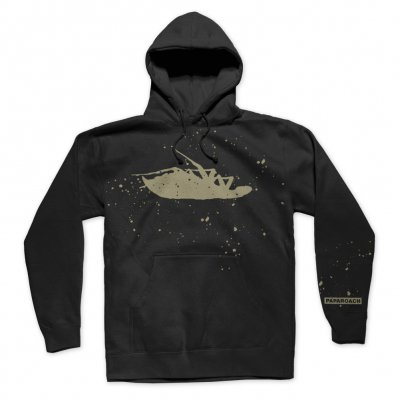 papa-roach - Bleached Logo Pullover Hoodie (Black)