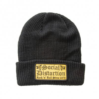 social-distortion - Rock N Roll Beanie (Black)