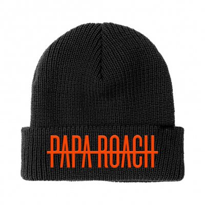 papa-roach - Who Do You Trust? Beanie (Black)