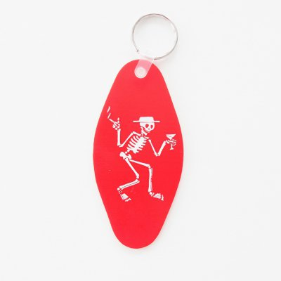 social-distortion - Skelly Motel Keychain (Red)