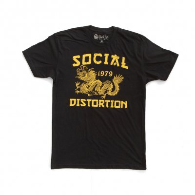 social-distortion - Dragon 79 T-Shirt (Black)