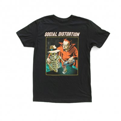 social-distortion - Double Martini T-Shirt (Black)