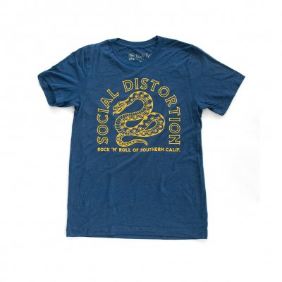 Snake Rock T-Shirt (Navy)