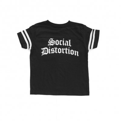 social-distortion - Football Kid Classic T-Shirt (Black)