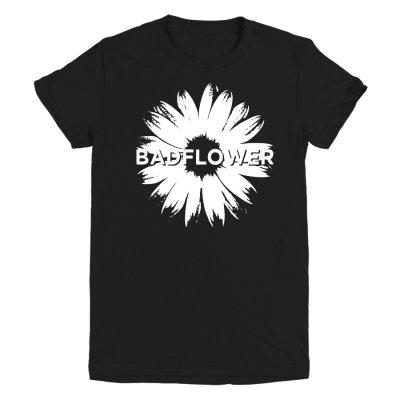 badflower - Women's Daisy Tee (Black)