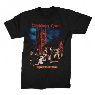 valhalla - Witchfinder General Friends Of Hell Tee