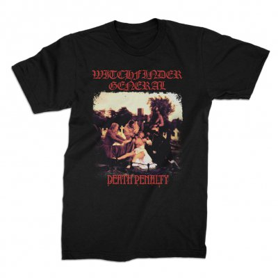 Witchfinder General - Witchfinder General Death Penalty Tee