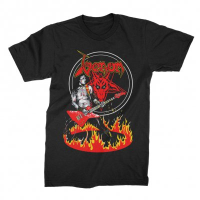 Venom Cronos In Flame Tee