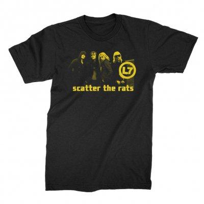 l7 - Scatter the Rats Photo Tee (Black)