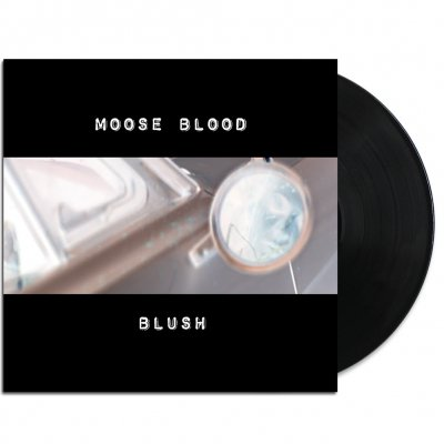 moose-blood - Blush LP Ltd. Cover (Black)