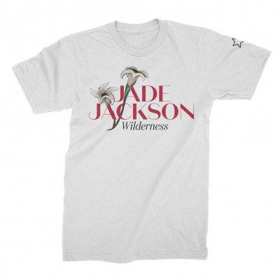 Jade Jackson - Wilderness Flower Tee (White)