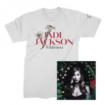 Jade Jackson - Wilderness CD + Tee (White) Bundle
