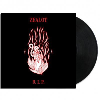 "Zealot R.I.P. - Self-titled 12"" EP (Black)"