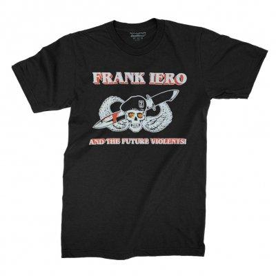 frank-iero - Knife Skull Tee (Black)