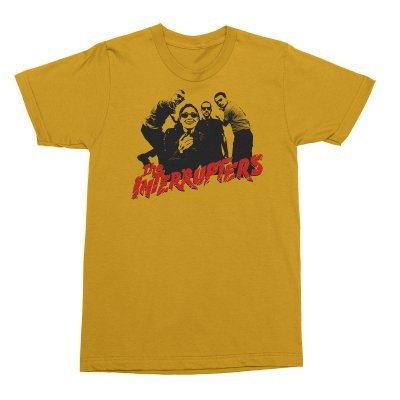 the-interrupters - Clash T-Shirt (Yellow)
