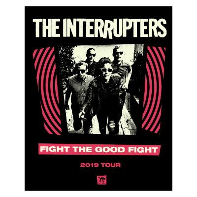 the-interrupters - FTGF Tour Screen Printed Poster