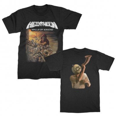helloween - Walls of Jericho T-Shirt (Black)
