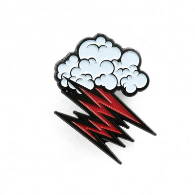 Cloud Logo Enamel Pin