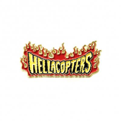 the-hellacopters - Flame Logo Enamel Pin