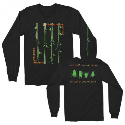 frank-iero - Stems and Thorns Long Sleeve (Black)