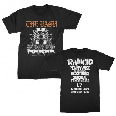 rancid - Sound System Tee (Black)