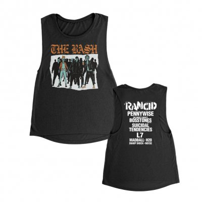 the-bash - Army Women's Tank (Black)