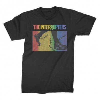 the-interrupters - 2019 Pride T-Shirt (Black)