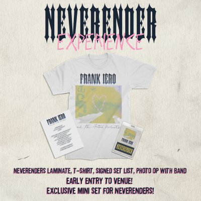 frank-iero - Neverender Experience