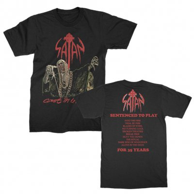 valhalla - Court In The Act Tee (Black)