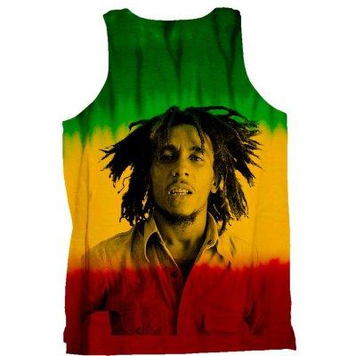 Bob Marley - Portrait Tank (Drip Dye)