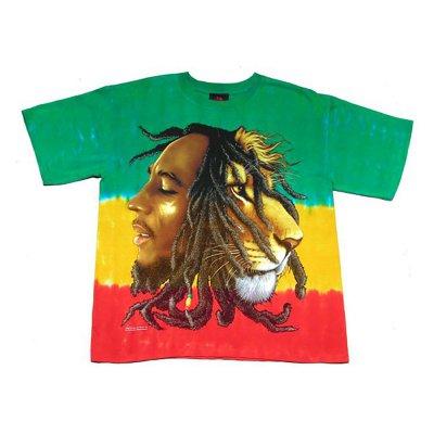 Bob Marley - Profiles Tee (Dye)