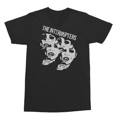 the-interrupters - Faces T-Shirt (Black)