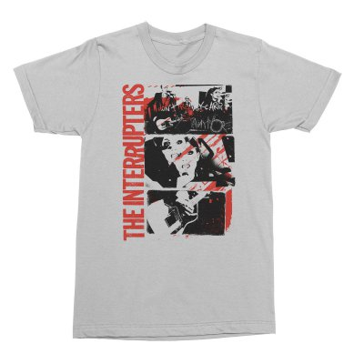 the-interrupters - Don't Care T-Shirt (White)