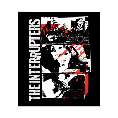 the-interrupters - Don't Care Back Patch (11x14)