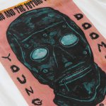 IMAGE | Young and Doomed Tee (White) - detail 2