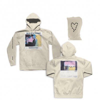 frank-iero - Barriers Pullover Sweatshirt (Natural)