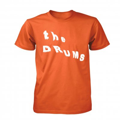 the-drums - Abysmal Thoughts Logo Tee (Orange)