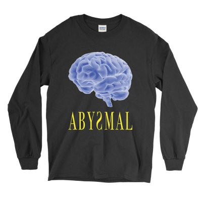 the-drums - Abysmal Brain Long Sleeve (Black)