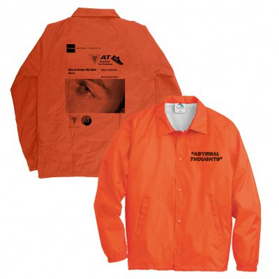 the-drums - Abysmal Thoughts Windbreaker (Orange)