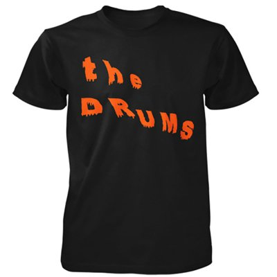 the-drums - Abysmal Thoughts Logo Tee (Black)