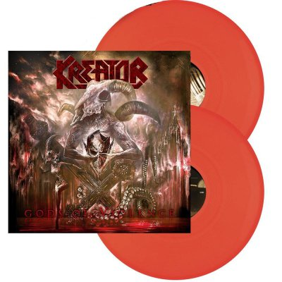 Kreator - Gods of Violence 2xLP (Orange)