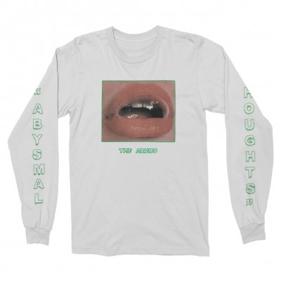 the-drums - Mouth Long Sleeve (White)