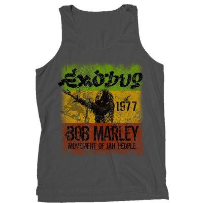 Bob Marley - Exodus Tank (Gray)