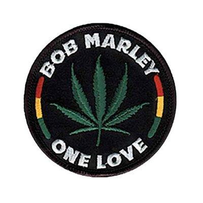 Bob Marley - Leaf Round Patch