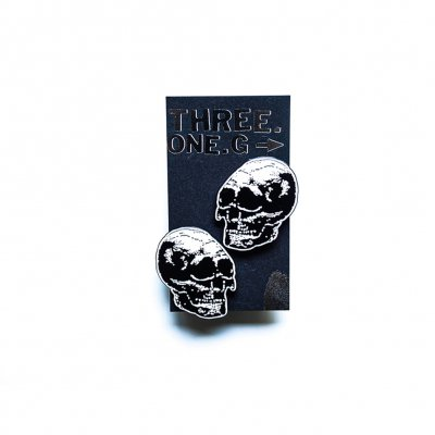three-one-g - Enamel Double Pin Set